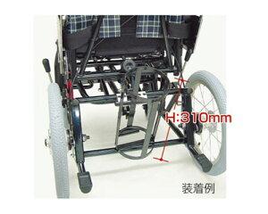 酸素ボンベ架台 内径105mm ティルティング&リクライニング車椅子KPFシリーズ用(車椅子と同時購入に限ります。) カワムラサイクル 【RCP】【介護用品】