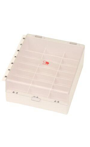 薬ケース テイコブMyカルテくすり整理ボックス HEC04 1日3回×1週間分 幸和製作所薬ケース 薬箱 薬入れ 週間 薬 カレンダー 投薬管理 薬ボックス 介護用品 高齢者 あす楽