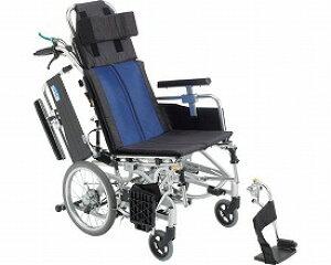 ▲ティルト&リクライニング車椅子 介助型 BAL-12 ミキ多機能車椅子 車いす 車イス 介護用品 歩行補助 介助式 介助用 ティルト車椅子