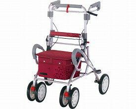 シルバーカー ナウコンパクト 41016 リーマン手押し車 老人 歩行車 ショッピングカート 4輪 おしゃれ 介護用品