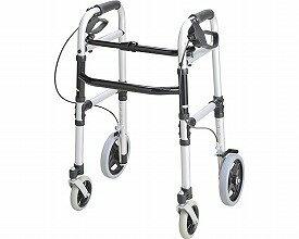 ▲安心ウォーカー ホームタイプ T-5800 シルバー テツコーポレーション介護用品 歩行器 歩行車 歩行補助車