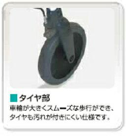 交換部品 オパルタイヤ/ウォーキー前輪 03080080  ラックヘルスケア 【RCP】【介護用品】【歩行器 部品】