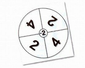 お手玉リズム&ダーツサークル用 ダーツサークル 1枚 NH2520 羽立工業 【RCP】【オプション レクリエーション トレーニング 介護 施設 デイサービス 介護用品】