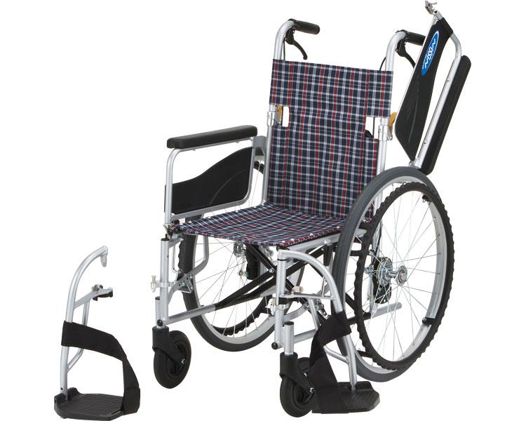 アルミ自走車いす NEO-1W 日進医療器 【RCP】【smtb-kd】【介護用品】【自走式車椅子/自走用車椅子】【車イス】【歩行補助】