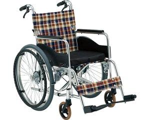 自動ブレーキ装置付車いす 立ち止まり君自走式 AR-201BT 松永製作所立ち止まり君シリーズ 自走型 背折れ 折りたたみ ドラムブレーキ搭載 介護用品 車椅子 車イス