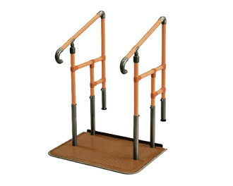 Putting it attaches step stand going up and down support house repair for the たちあっぷ both hands pickpocket CKE-01 step with a table Yazaki processing platform of the entrance for あがりかまち; is a care article welfare tool simply