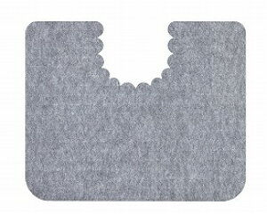 床汚れ防止マット 5枚組/KH-16 グレー サンコー 【RCP】【介護用品】