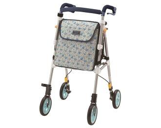 银子汽车海尔海一灯丰富多彩的G象印婴儿护理用品手推车老人银子汽车花纹支援型汽车按一个按钮折叠