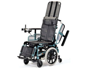 電動リクライニング車いす NEO-PR リクラ60(標準仕様)6輪タイプ 日進医療器車椅子 リクライニング 車イス くるまいす 介護用品 高齢者