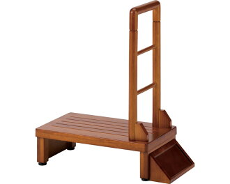 Handrail entrance stand 60/THG6-T60 brown with