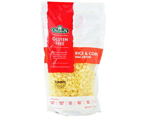 ORGRAN オルグラン グルテンフリー お米とコーンのパスタ マカロニ 250g 393008 アレルギーヘルスケア食物アレルギー配慮商品 小麦アレルギー 料理