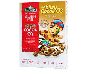 グルテンフリー ココアシリアル 300g 393210 ORGRAN オルグラン食物アレルギー配慮商品 シリアル 朝食 おやつ