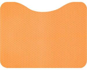 立ち上がりトイレマット オレンジ AF-37 サンコーマット すべりどめ 滑り止め 転倒防止 つまずきにくい リバーシブル 両面使用 足元 シニア 高齢者 介護用品