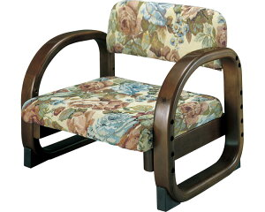 思いやり座敷椅子 ゴブラン柄 45595 コジット座椅子 正座いす 腰痛 立ち上がり補助 高齢者 オシャレ 家具 インテリア いす イス 介護用品