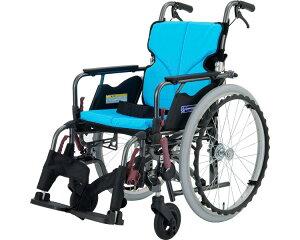 車椅子 モダンシリーズ Bスタイル 多機能タイププラス KMD-B22-40(38/42)-H 高床タイプ カワムラサイクル自走式 車いす 車イス スイングイン・アウト 高齢者 介護用品 福祉用具
