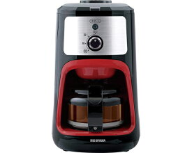 ▲全自動コーヒーメーカー IAC-A600 アイリスオーヤマ家電 コーヒーメーカー ギフト プレゼント 簡単操作