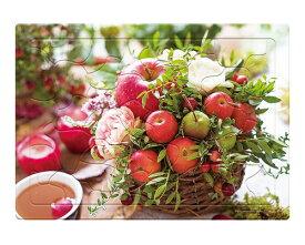 ジグソーパズル ▲いきいきパズル 花とりんご 101-119 40ピース やのまんレクリエーション デイサービス 施設 人気 パズル リハビリ トレーニング 敬老の日