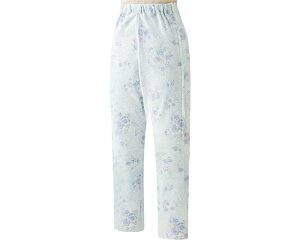 腰開き洗い替えパンツ 38646 ケアファッションパジャマ 寝巻き ねまき パンツ 腰開きファスナー ユニバーサルファッション レディース ミセス 婦人用 女性用 シニア ファッション 愛情介護