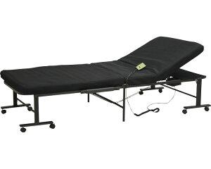 電動収納ベッド ブラック SMOT-360 大商産業電動ベッド 電動式 ベッド 折りたたみ式 リクライニング 高齢者 介護用品 介護