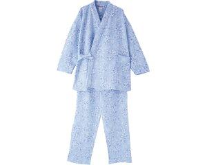 キルト打合せパジャマ 38650 ケアファッションパジャマ 寝巻き ねまき キルト ユニバーサルファッション レディース ミセス 婦人用 女性用 シニア ファッション 愛情介護 介護 衣類 介護衣料