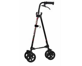 ハンドレールステッキ2 ブーケ WB5134 フジホーム介護用品 杖 ステッキ ハンドレール 歩行補助 花柄 かわいい 車輪付き