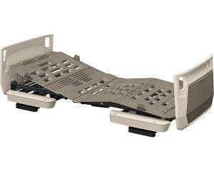 楽匠プラス 多機能 2モーション H脚タイプ スマートハンドル付 91cm幅 オプション受:キャメル ボード:モスグリーン KQ-A5321S パラマウントベッド介護用品 介護ベッド 電動ベッド 在宅介護 高