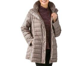 軽量配色ダウンコート 97669 ケアファッションアウター ダウンコート 長袖 軽量 あたたか 暖か レディース ミセス 婦人用 女性用 シニア ファッション アクティブ 介護 衣類 介護衣料 高齢者 秋冬 2020AW