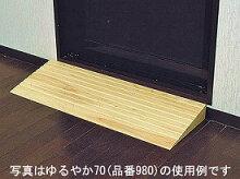 段差スロープ安心スロープゆるやか削除型10幅80×奥行5×高さ1.0cm973シクロケア