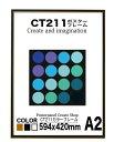 CT211カラーコレクションパネル A2 額縁ポスターフレーム594x420mm 額縁 ポスターフレーム【送料無料】