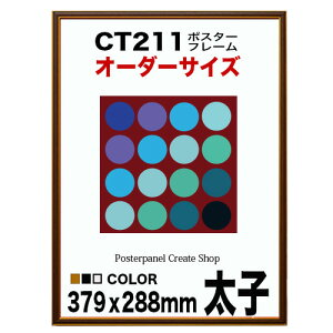 CT211 カラーコレ ポスターフレーム 太子379x288mm 額縁 オーダー品