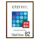 【送料無料】ポスターフレーム CT211カラーコレクションパネル B2 サイズポスターフレーム 額縁 515x728mm ポスターフ…