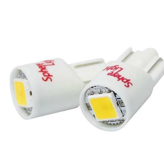 LEONID 【LED T10】スフィアライト5500k ナンバー灯(ライセンス球)/ポジション/ルームライト【パネル王国】ソフィア