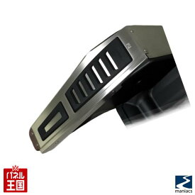 Footrest Cover for for Audi A3/TTの右ハンドル車DSG(2ペダル)専用 に適合するステンレス製フットレストカバー FPM-5A0710 フットレストプレート maniacs Left Side FootPlate アウディ