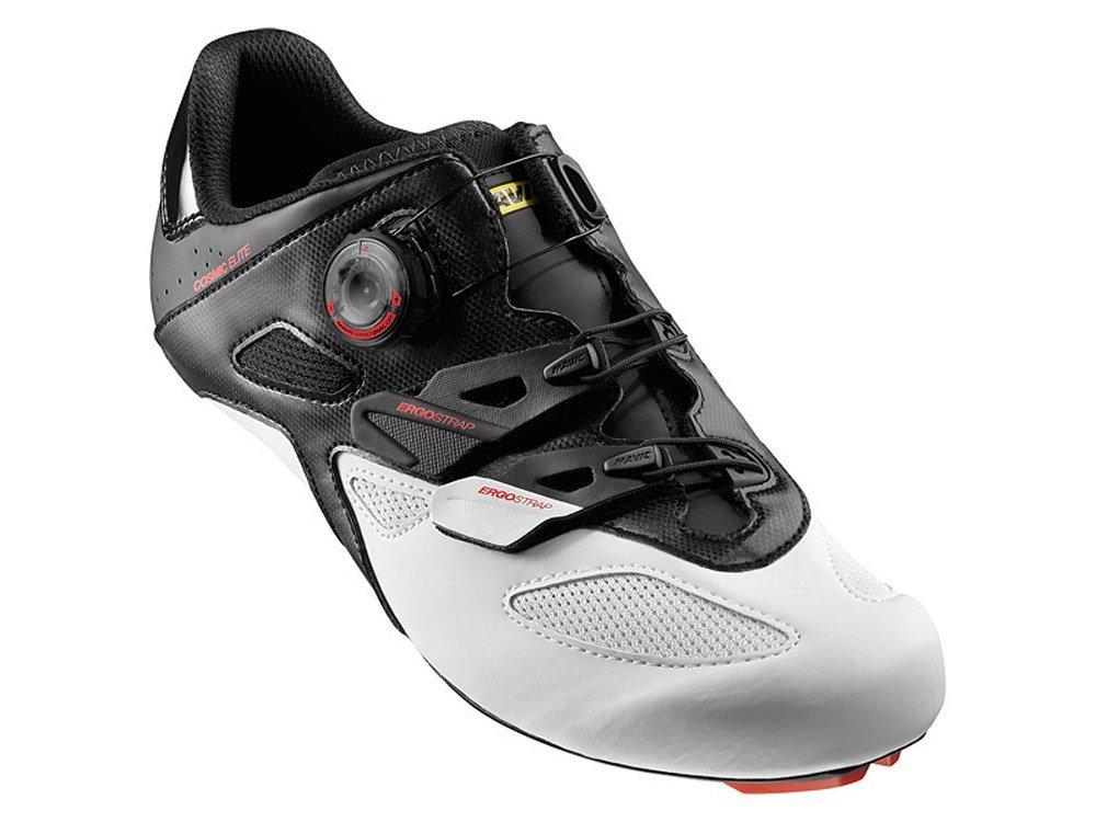 マヴィック MAVIC コスミック エリート シューズ Cosmic Elite Road Shoes L39134000 Black/White/Fiery Red Men's 自転車 靴