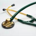 リットマン 聴診器 Master Cardiology ハンターグリーン (2183)ブラス・エディション Littmann マスターカーディオロジー ステート