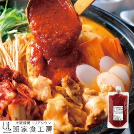 チゲ味噌 280g スタンドパック(徳山物産) 汁 にんにく 美味しい 韓国料理