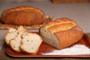 カンパーニュプレーン【小麦本来の味】【全粒粉】【フランスパン】-パン工房カワ-