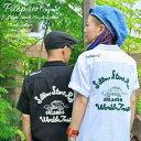 PAOPAO オリジナル チェーン刺繍 半袖 ボーリングシャツ【ボウリングシャツ 車 ハンドル刺繍 インド綿 コットン カワ…