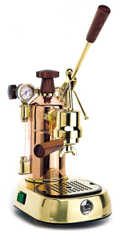 【正規輸入品】La Pavoni(パヴォーニ)エスプレッソマシン・プロフェッショナル PRG(銅・18金メッキ)