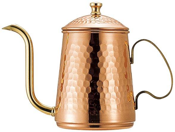 カリタ・銅ポット600(銅製 コーヒーポット)