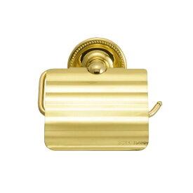 トイレットペーパーホルダー(ヴィクトリアン・ブラス) 640124 真鍮 ゴールド色 金色 おしゃれ トイレットペーパーカバー アンティーク
