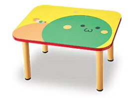 【アビーロード】AS-031 キャタピーテーブルS 角型キッズテーブル キッズルーム、待合室、子ども部屋、託児所、幼児、子ども用