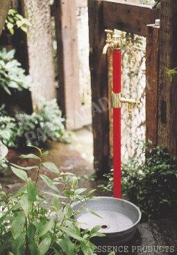 【Essence】ガーデンクラシック水栓,クロームサテン水栓金具