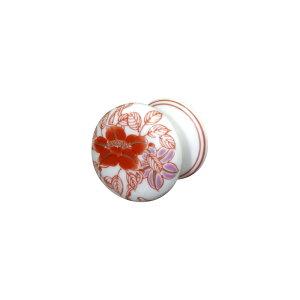 【有田焼】伊万里焼 錦鉄線花絵 つまみ ART4-GD008 ドア用取っ手 キッチン トイレ 洗面所