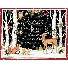 限定数のみ再入荷! LANG ラング クリスマスカード 白樺 Peace In Our Hearts