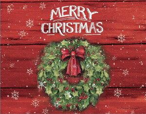 LANG ラング クリスマスカード クリスマスリース Marry Christmas
