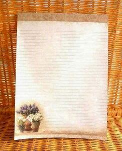 レア!USA LegacyレガシーA4サイズの ノートパッド Window Garden