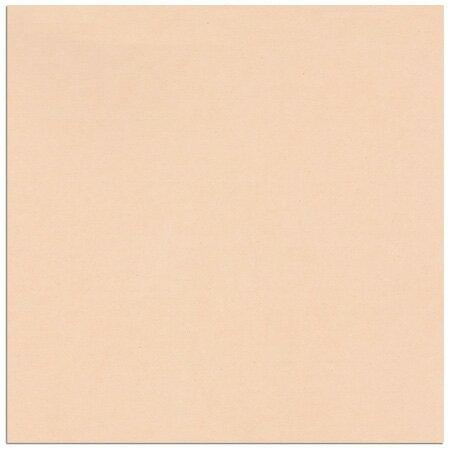 スクラップブッキングペーパーヴェラム オレンジサイズ:W305×H305mm(12×12インチ)1枚【トレーシングペーパー カラーペーパー 半透明紙】