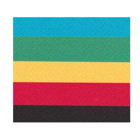 マーメイド紙 153k 選べる原色系4色+黒 A4 50枚 あす楽 印刷用紙 ファンシーペーパー 特殊紙 型押荒目