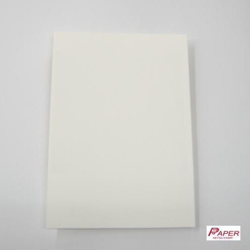 白系3色から選んでマーメイド紙210kハガキサイズ(100枚)【当日発送可】【印刷用紙】【ファンシーペーパー】【特殊紙】【型押荒目】
